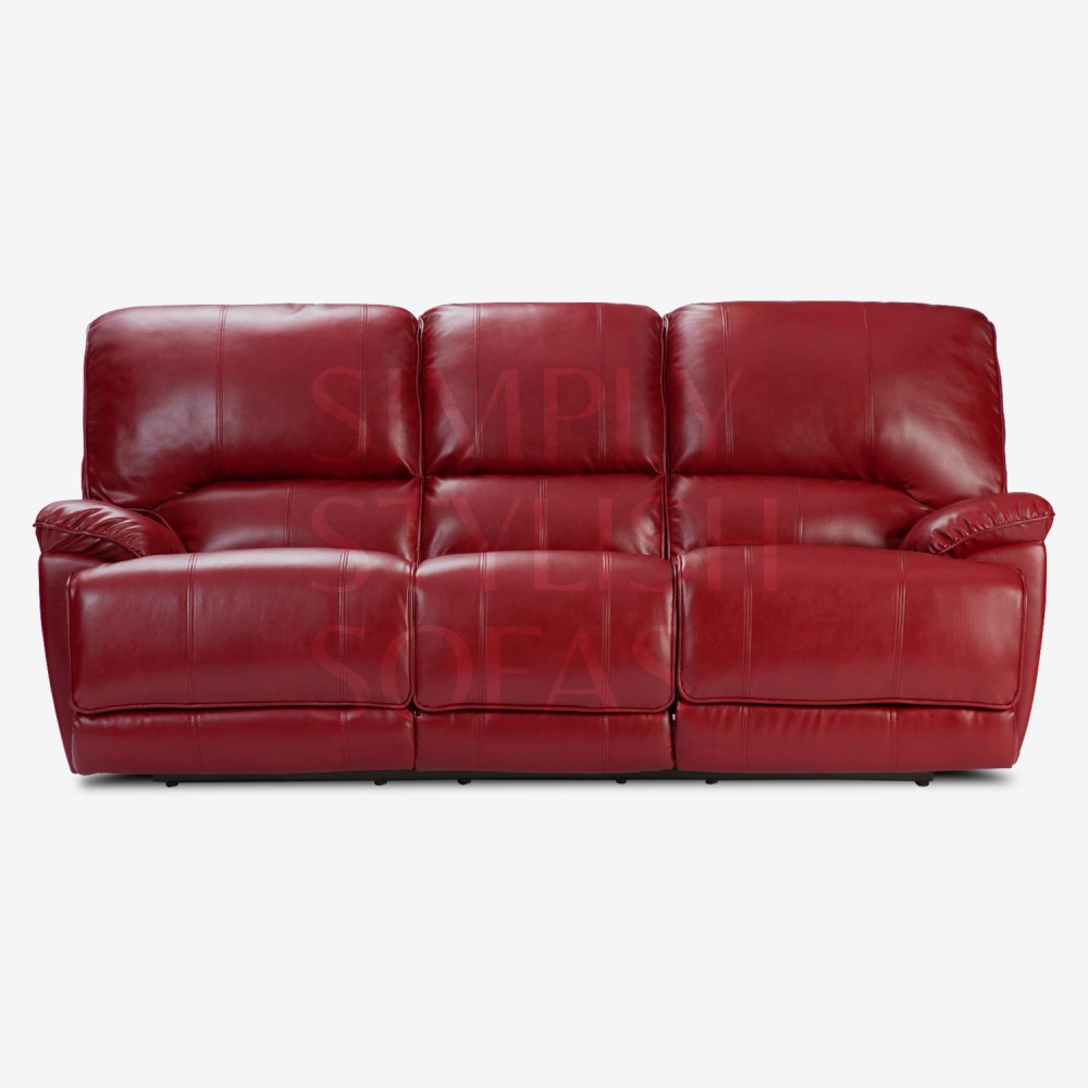 Best ideas about Red Recliner Sofa . Save or Pin PENN Cranberry Red Recliner Sofa Collection in Ultra Now.