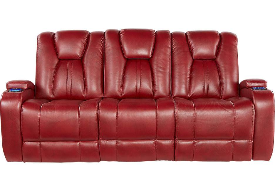 Best ideas about Red Recliner Sofa . Save or Pin Alexander Valley Red Power Reclining Sofa Sofas Red Now.