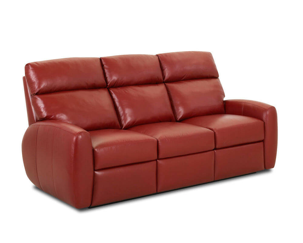 Best ideas about Red Recliner Sofa . Save or Pin American Made Best Red Leather Recliner Sofa Ventana CLP114 Now.