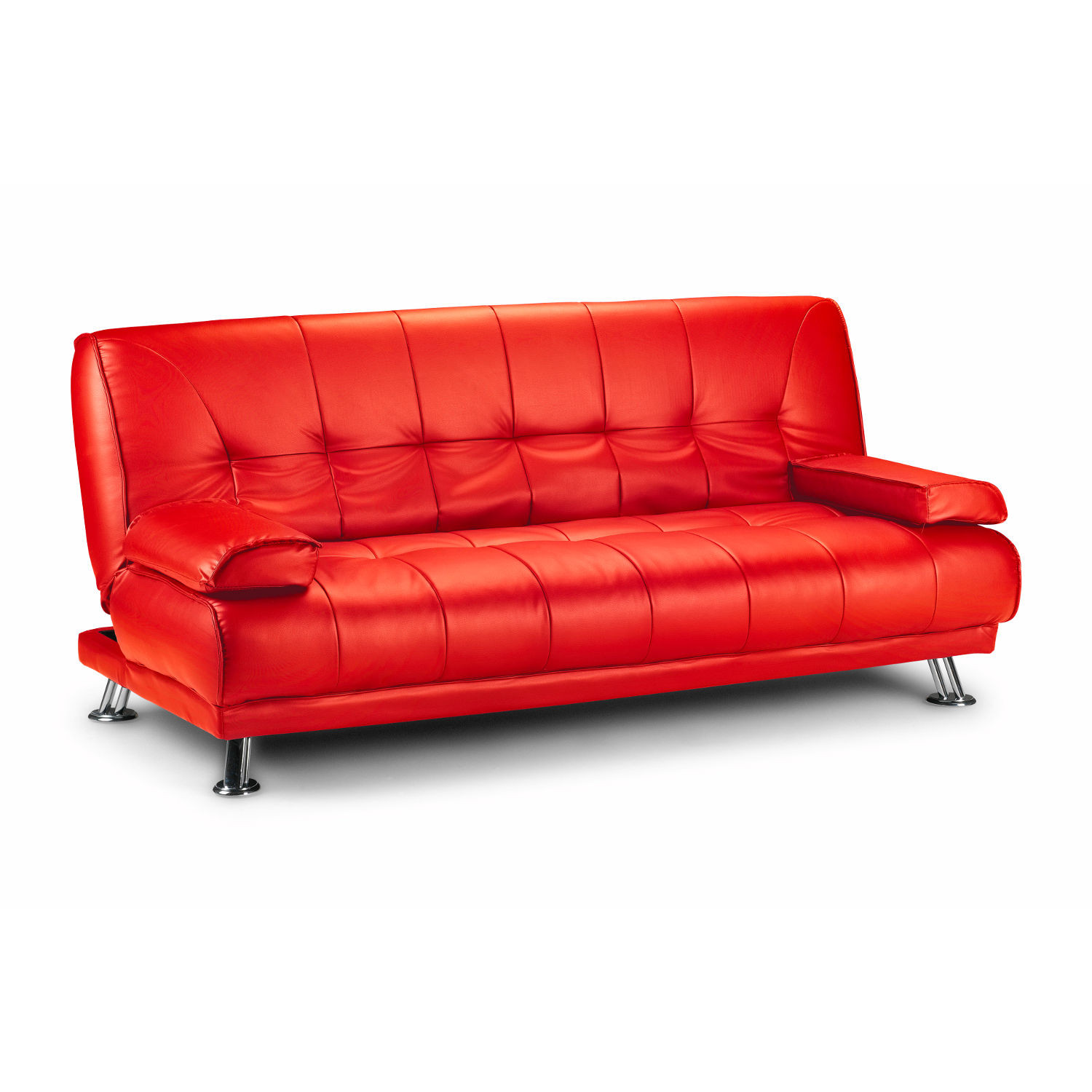 Best ideas about Red Sofa Beds . Save or Pin Red Sofa Beds Diamond Red Leather Sofa Bed TheSofa Now.