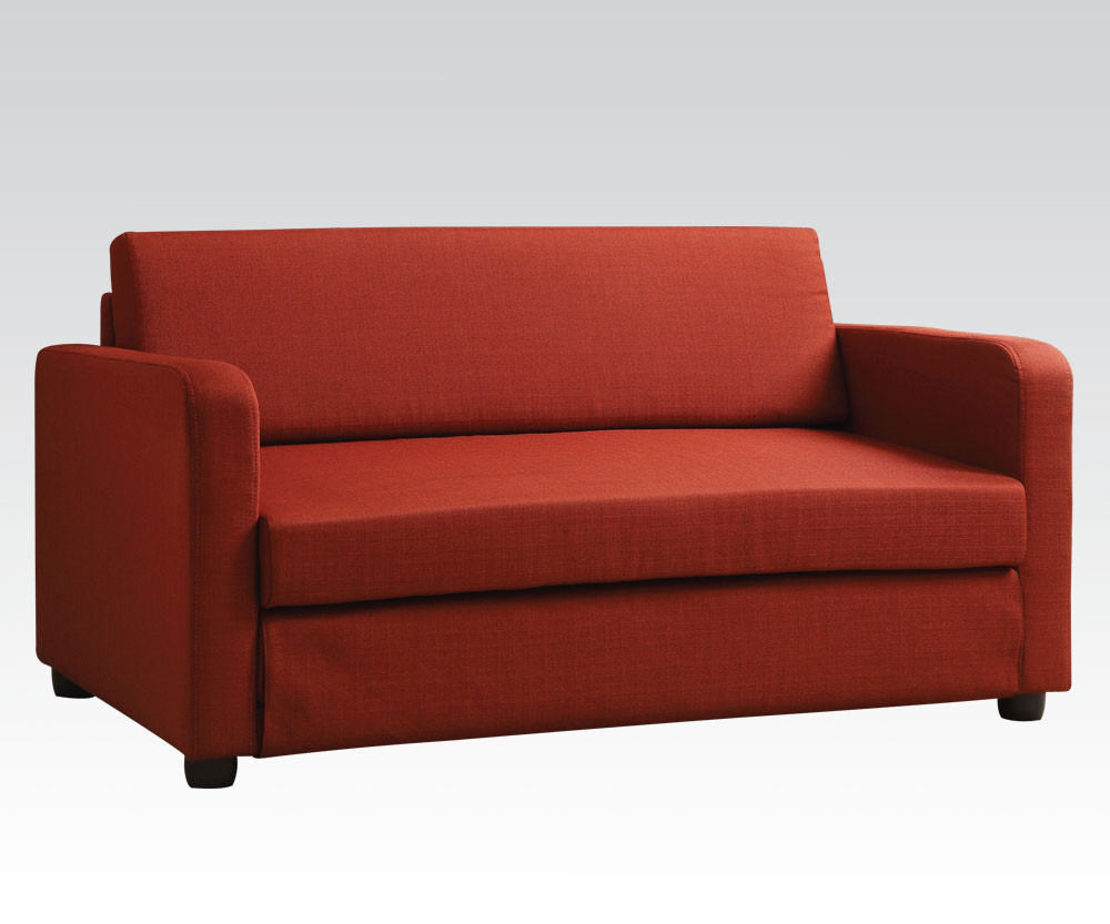 Best ideas about Red Sofa Beds . Save or Pin Conall Red Sofa Bed BY ACME Now.