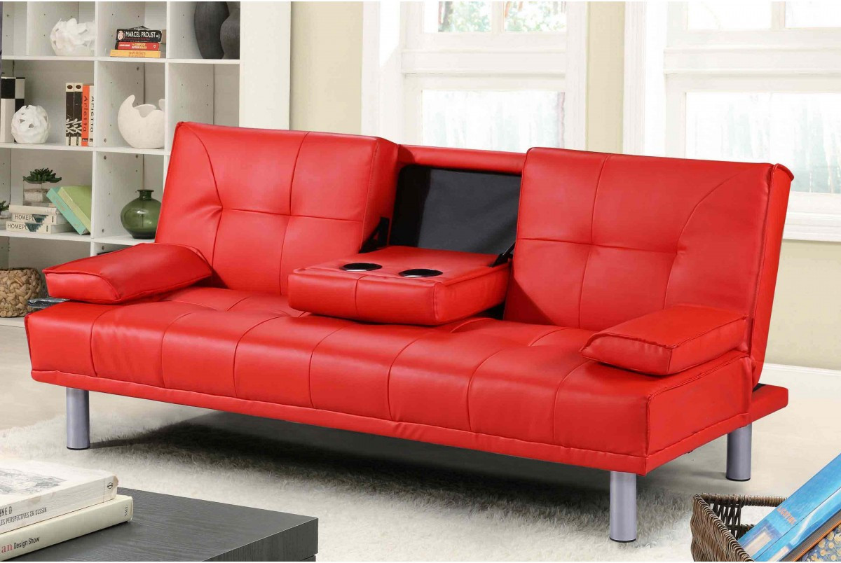 Best ideas about Red Sofa Beds . Save or Pin Red Leather Sofa Bed Uk Surferoaxaca Now.