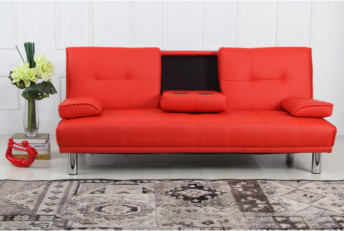 Best ideas about Red Sofa Beds . Save or Pin Sofa Bed Red Sofa Bed Red Leather Izfurniture TheSofa Now.