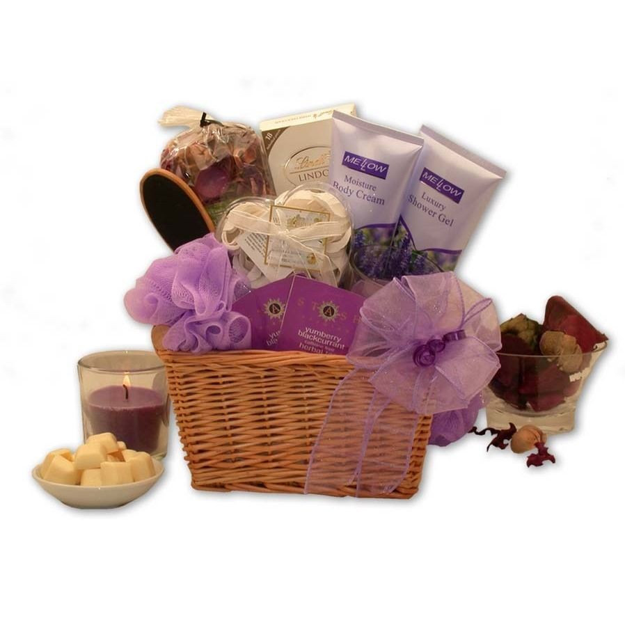 Best ideas about Relaxation Gift Ideas . Save or Pin Lavender Relaxation Spa Gift Basket Now.