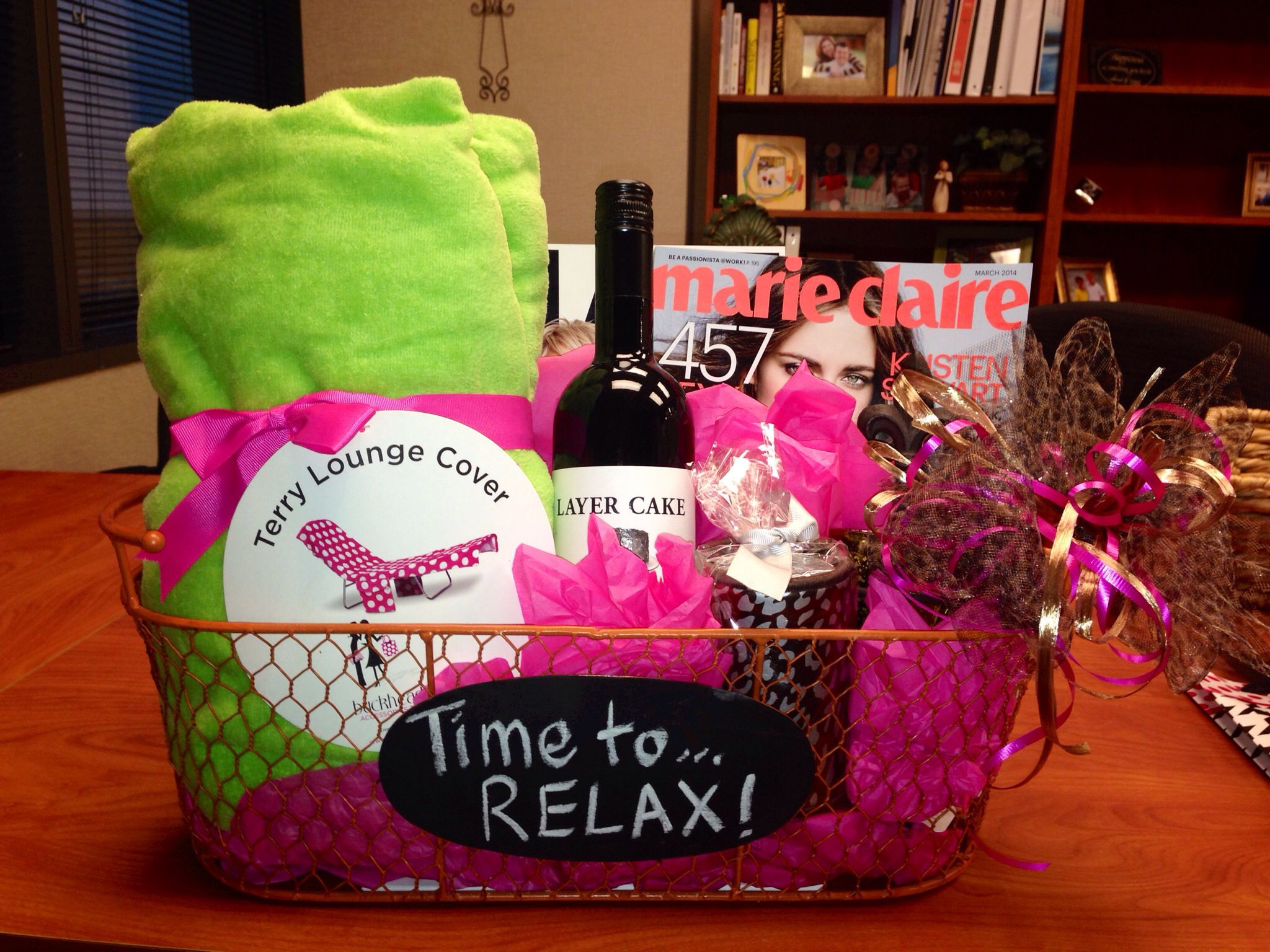 Best ideas about Relaxation Gift Ideas . Save or Pin Relaxation Gift Basket CUTE GIFT IDEAS Now.