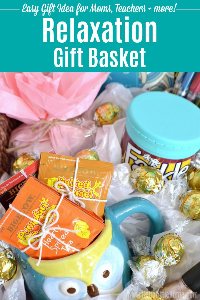 Best ideas about Relaxation Gift Ideas . Save or Pin DIY Relaxation Gift Basket A Fun Easy Gift Idea Now.