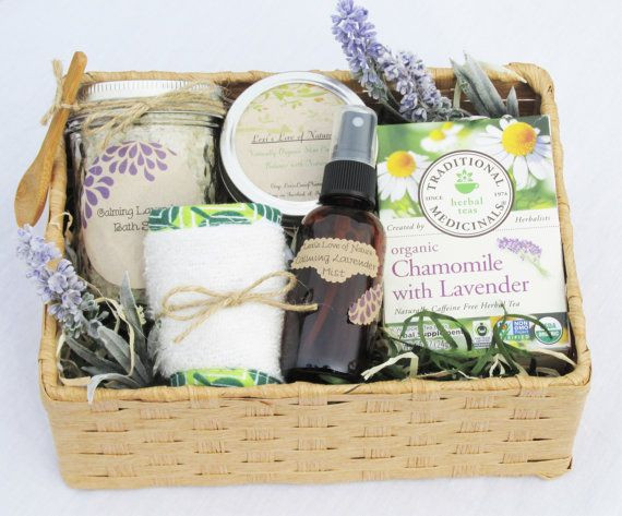 Best ideas about Relaxation Gift Ideas . Save or Pin Spa Gift Basket Relaxation Gift Spa Set Organic Gift Now.
