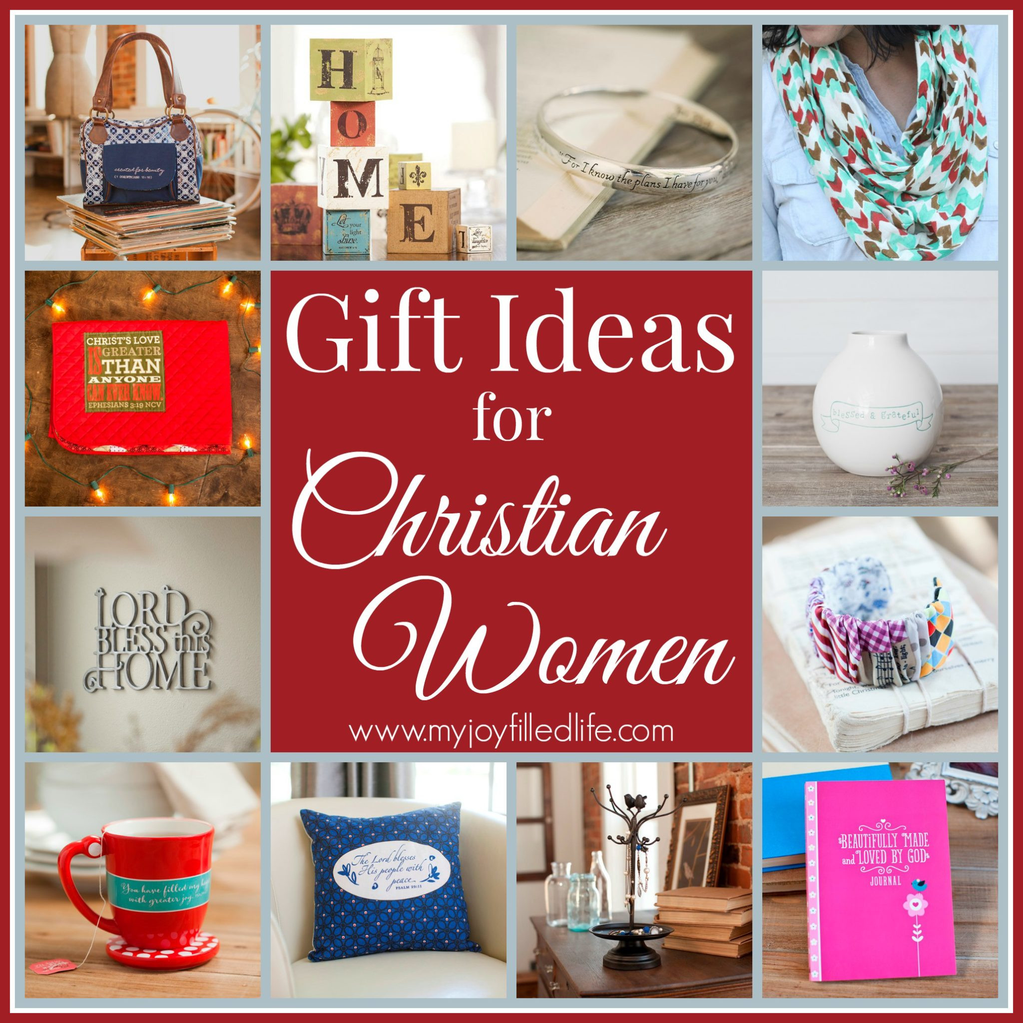 Best ideas about Religious Gift Ideas . Save or Pin Gift Ideas for Christian Women My Joy Filled Life Now.