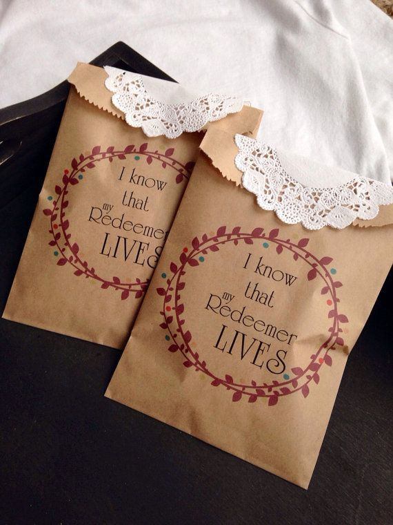 Best ideas about Religious Gift Ideas . Save or Pin Christian Easter Basket Alternative Candy Favor Bags Now.
