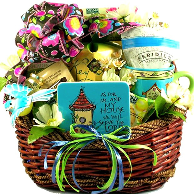 Best ideas about Religious Gift Ideas . Save or Pin Inspirational Christian Gift Basket Now.