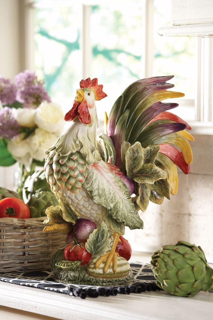 Best ideas about Rooster Kitchen Decor . Save or Pin Diy Rooster Kitchen Decor Diy Do It Your Self Now.