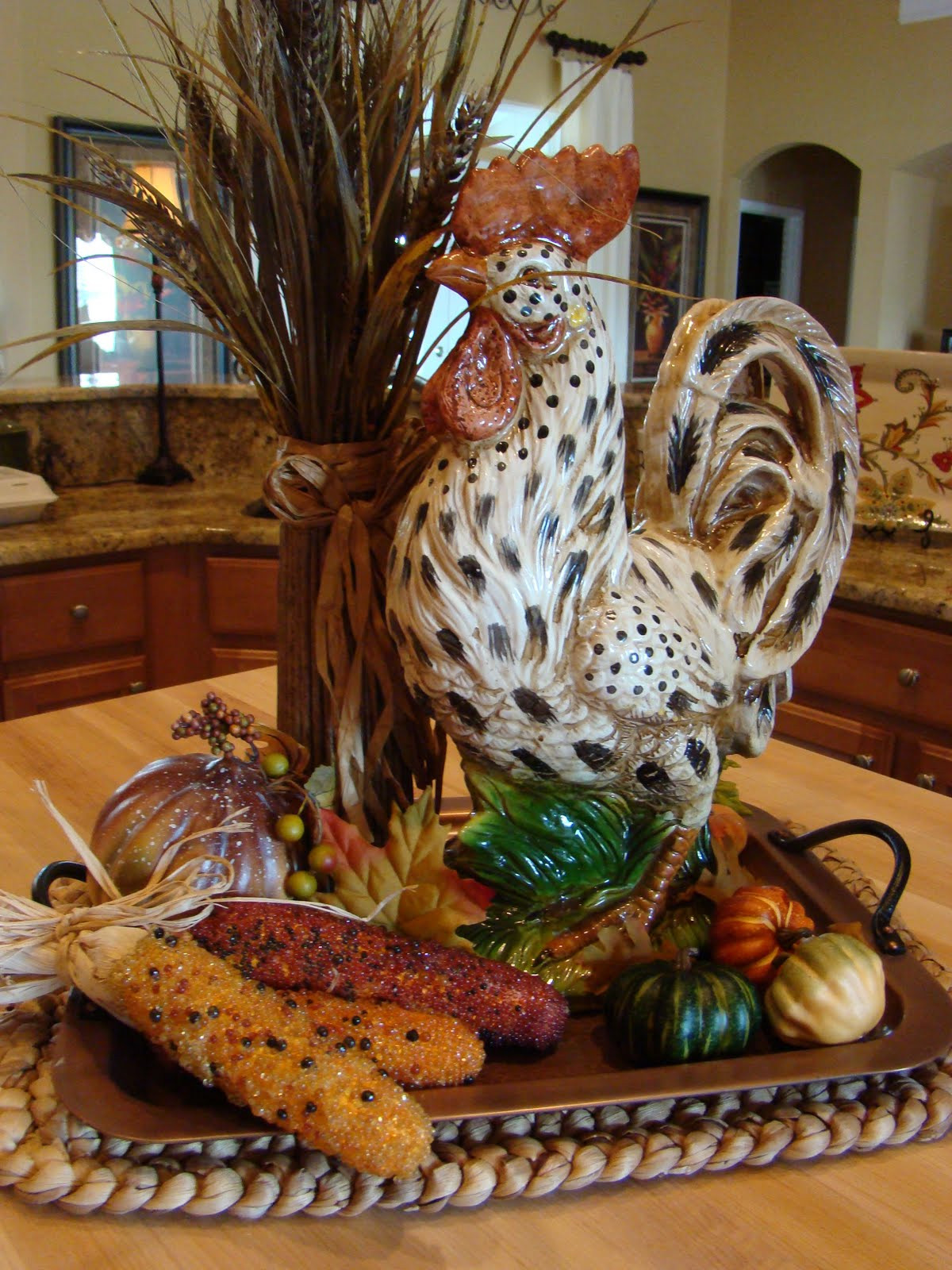Best ideas about Rooster Kitchen Decor . Save or Pin Adventures in Decorating Fall is in the Air Now.