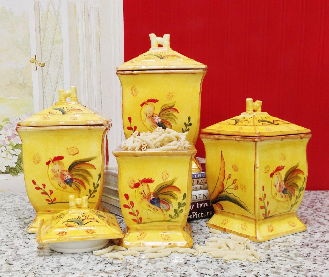 Best ideas about Rooster Kitchen Decor . Save or Pin Rooster Kitchen Decor Now.