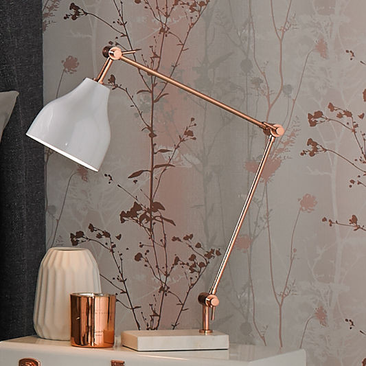 Best ideas about Rose Gold Desk Lamp . Save or Pin Rose Gold and Marble Desk Lamp GrahamBrownUK Now.