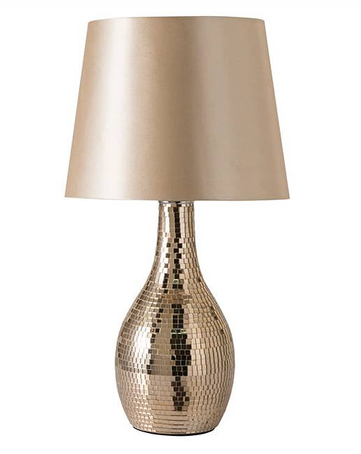 Best ideas about Rose Gold Desk Lamp . Save or Pin Rose Gold Mosaic Table Lamp Now.