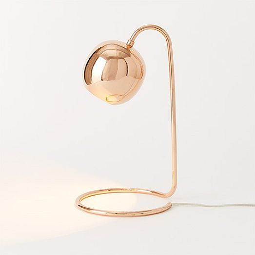 Best ideas about Rose Gold Desk Lamp . Save or Pin ROSE GOLD With a slender profile and an open base that Now.
