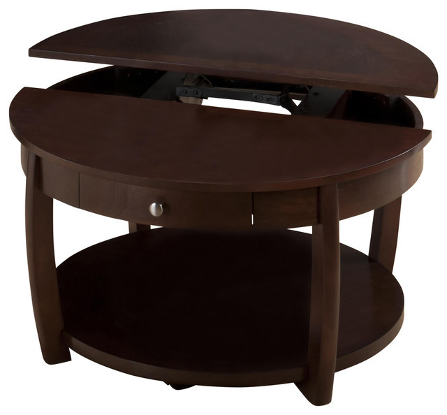 Best ideas about Round Lift Top Coffee Table . Save or Pin Riverside Round Lift Top Cocktail Table Transitional Now.