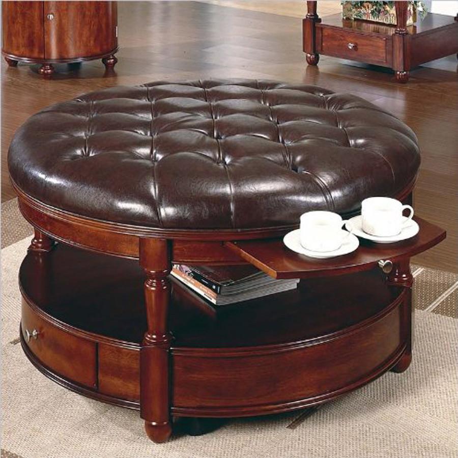 Best ideas about Round Storage Coffee Table . Save or Pin Round Coffee Tables with Storage Now.