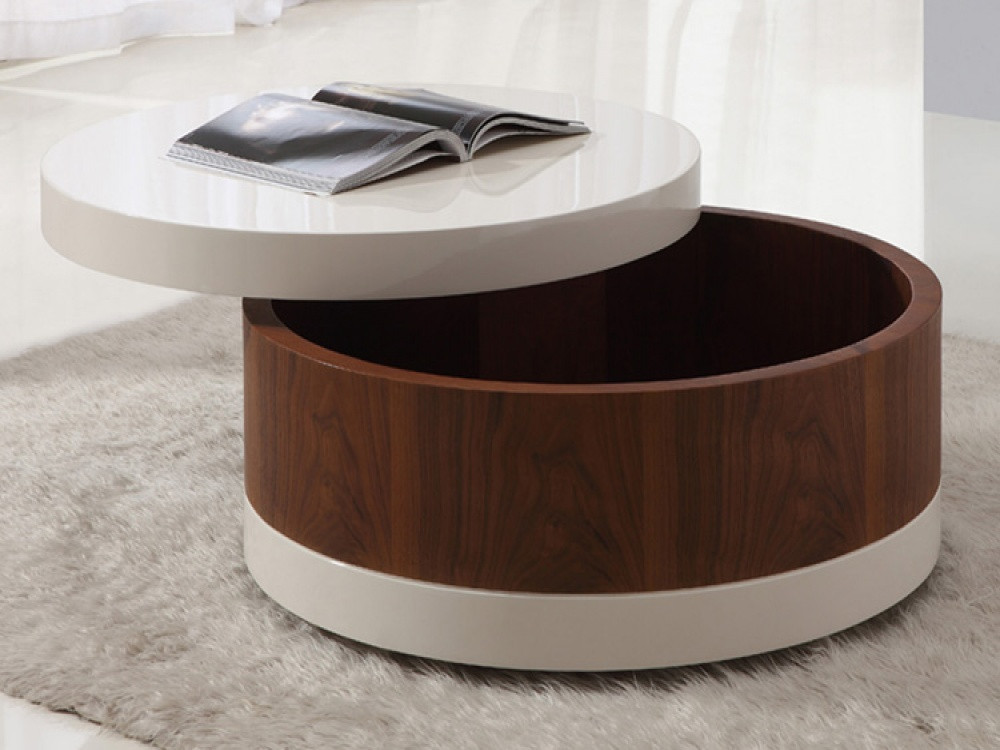 Best ideas about Round Storage Coffee Table . Save or Pin The Round Coffee Tables with Storage – the Simple and Now.