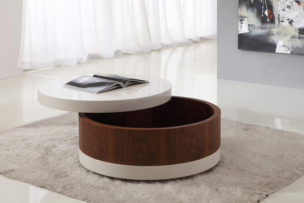 Best ideas about Round Storage Coffee Table . Save or Pin Awesome Round Coffee Tables with Storage Now.