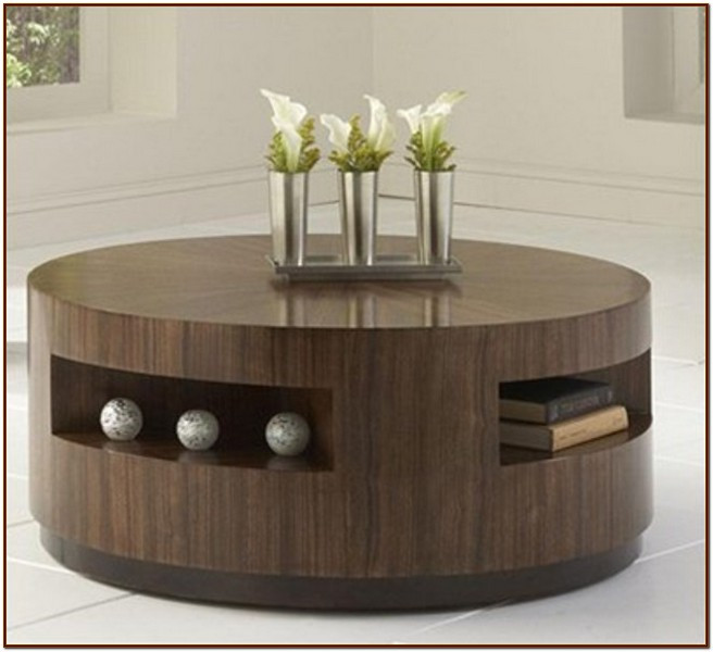 Best ideas about Round Storage Coffee Table . Save or Pin Round coffee table with storage For Coffee Lovers Now.