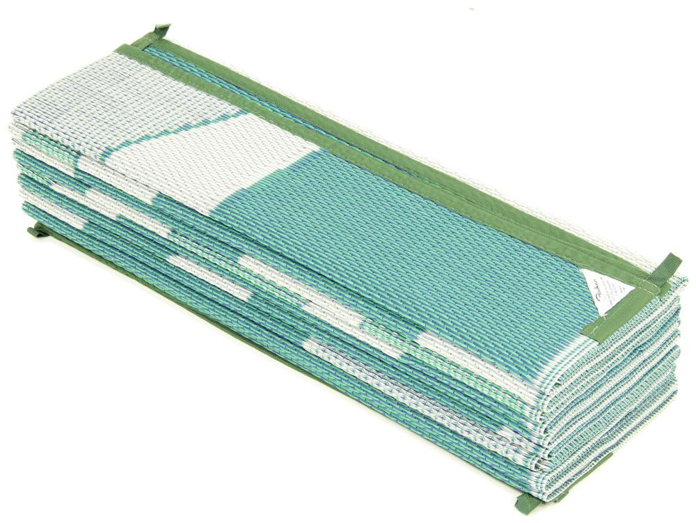 Best ideas about Rv Patio Mat 8X20 . Save or Pin Faulkner RV Mat Summer Waves Green and Blue 8 x 20 Now.