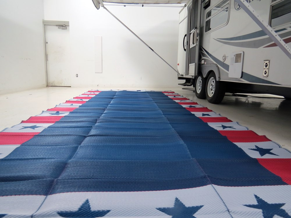 Best ideas about Rv Patio Mat 8X20 . Save or Pin Faulkner RV Mat Independence Day Red White and Blue Now.