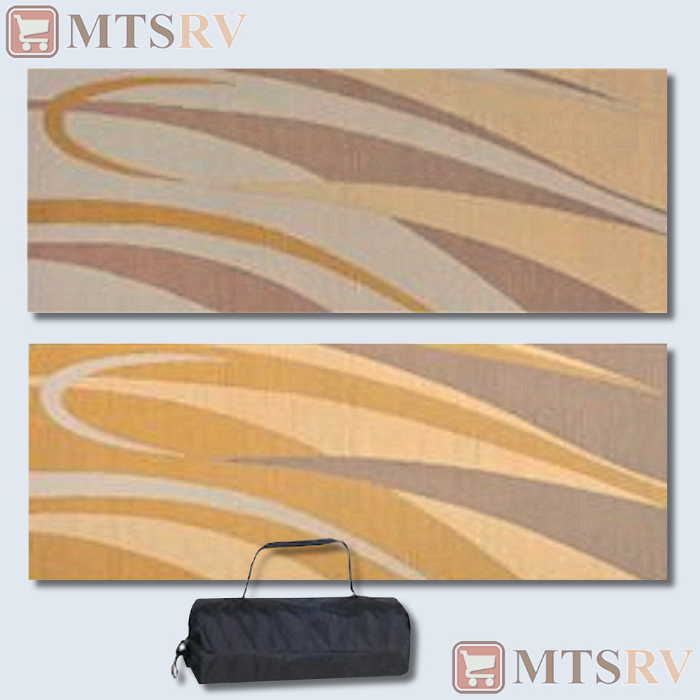 Best ideas about Rv Patio Mat 8X20 . Save or Pin MMI Reversible Patio Mat 8x20 ft Brown Gold Swirl Now.