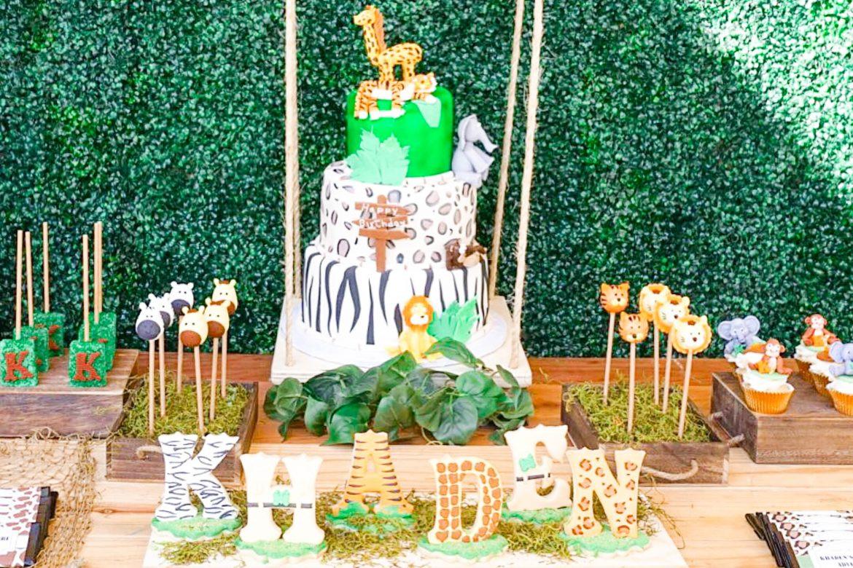 Best ideas about Safari Birthday Decorations . Save or Pin Wild Jungle Safari Birthday Party Theme TINSELBOX Now.
