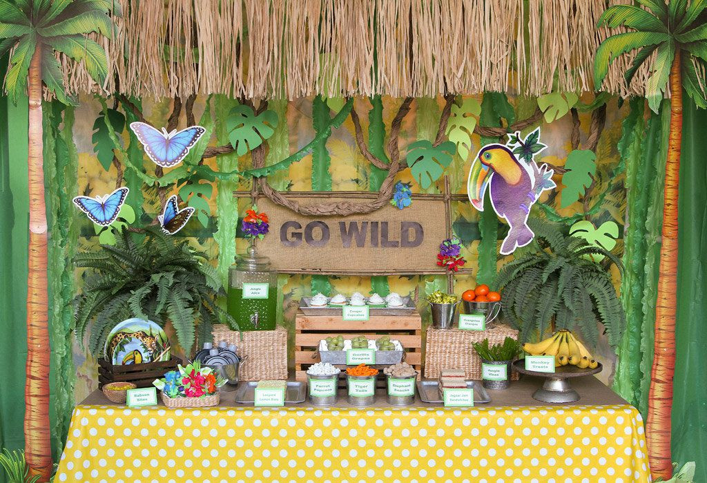 Best ideas about Safari Birthday Decorations . Save or Pin Jungle Party Ideas Now.