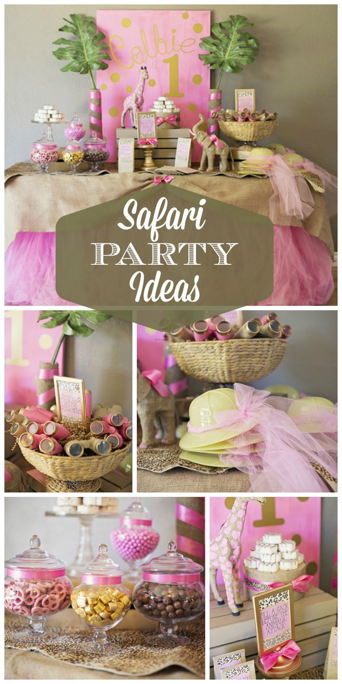Best ideas about Safari Birthday Decorations . Save or Pin Southern Blue Celebrations Jungle Safari Zoo Party Now.