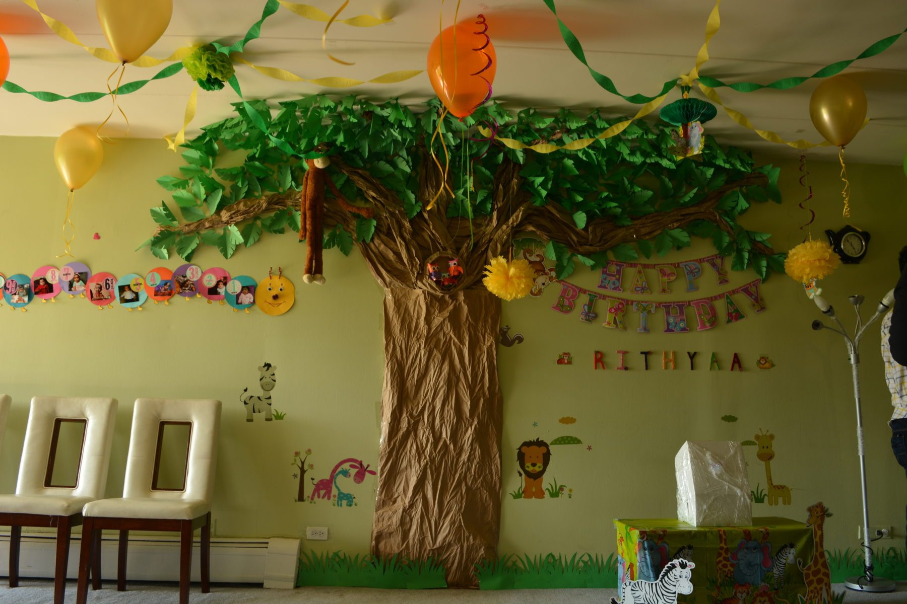 Best ideas about Safari Birthday Decorations . Save or Pin Jungle Theme Birthday Decoration Ideas Passionate Moms Now.