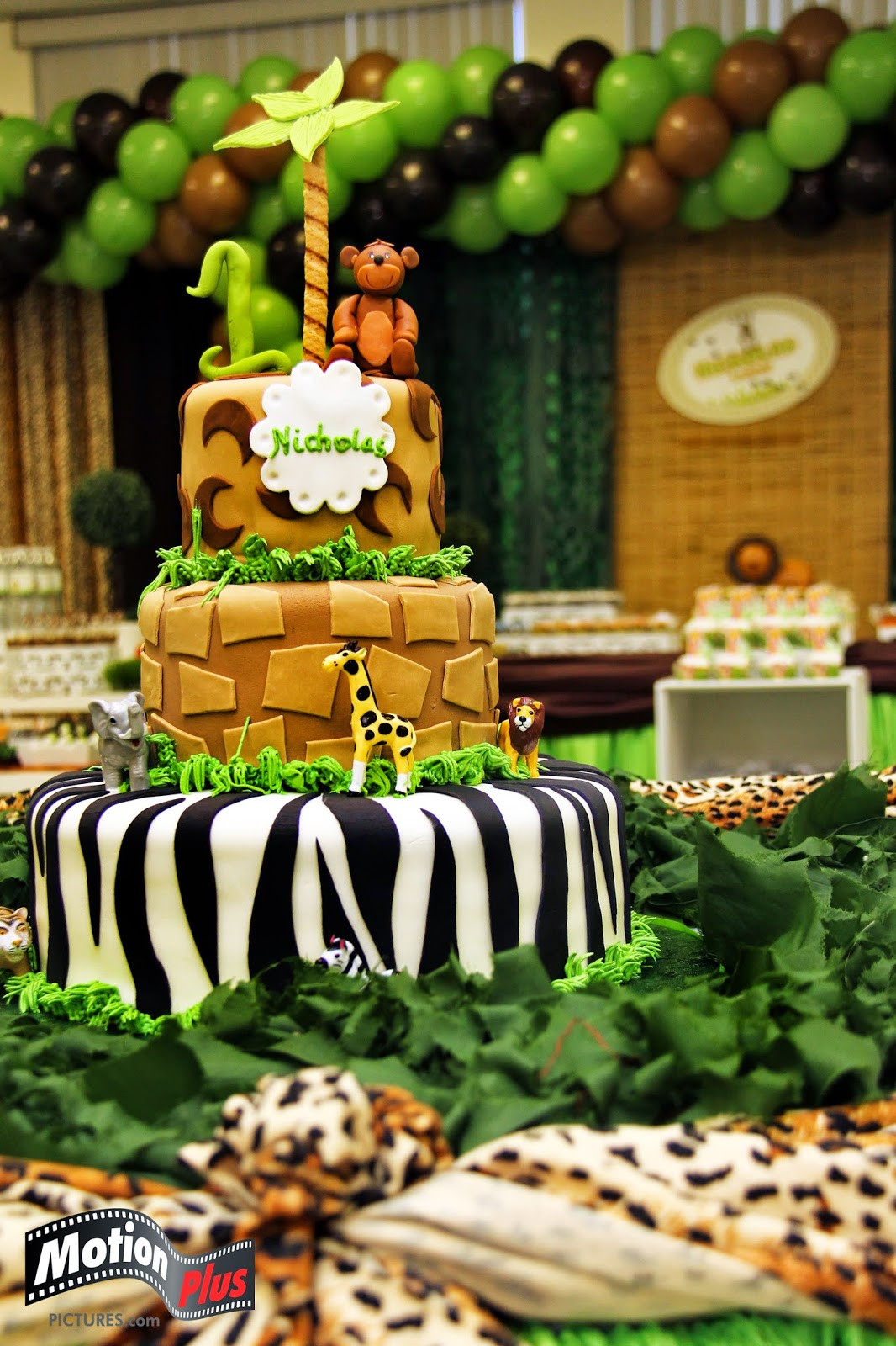 Best ideas about Safari Birthday Decorations . Save or Pin Motion Plus Safari Themed Birthday Party Ideas Now.