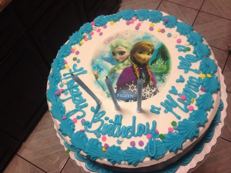 Best ideas about Sam Club Bakery Birthday Cake Designs . Save or Pin Frozen birthday cake from Sam s club Now.