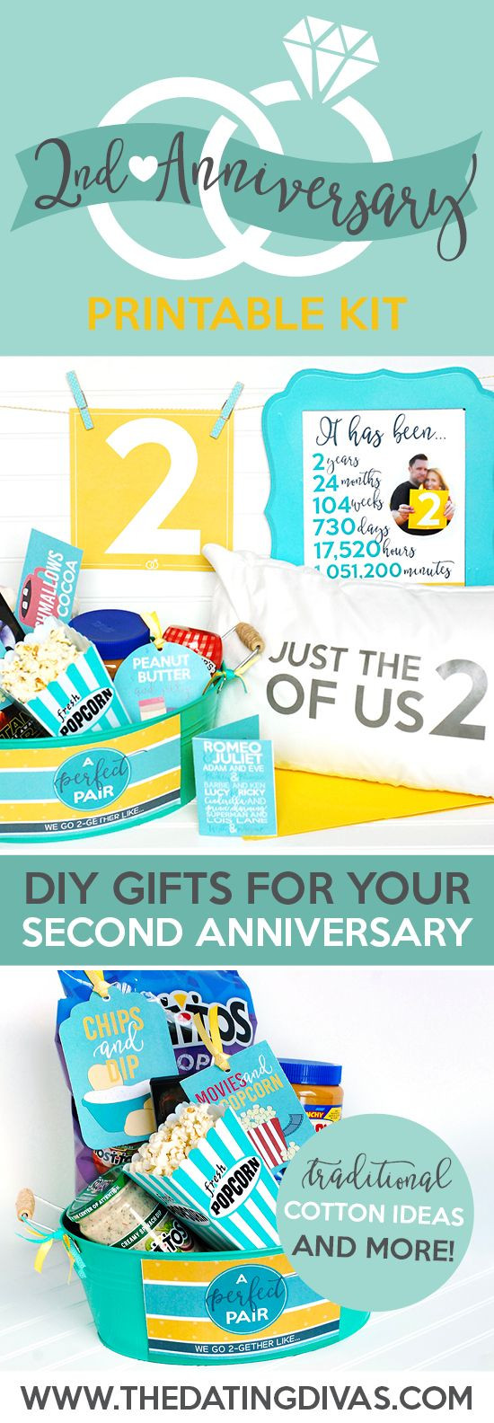 Best ideas about Second Wedding Gift Ideas . Save or Pin Best 20 Second anniversary t ideas on Pinterest Now.
