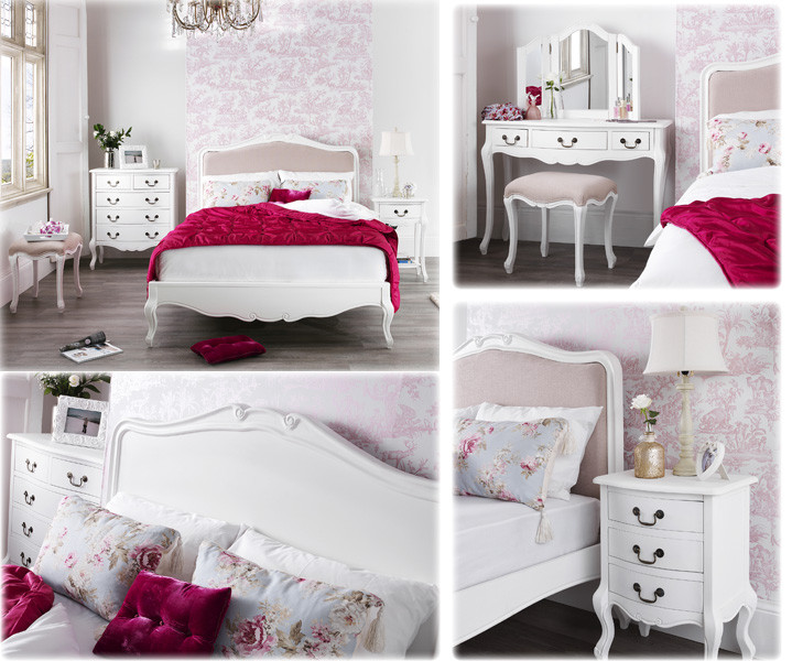 Best ideas about Shabby Chic Bedroom Sets . Save or Pin French shabby chic bedroom furniture set Now.