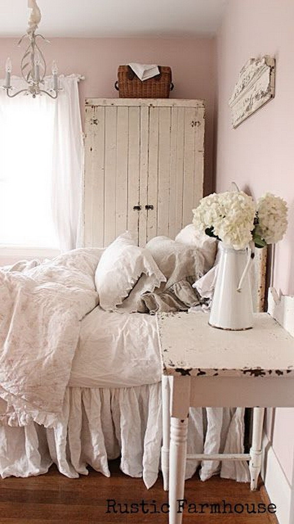 Best ideas about Shabby Chic Bedroom Sets . Save or Pin 30 Cool Shabby Chic Bedroom Decorating Ideas For Now.