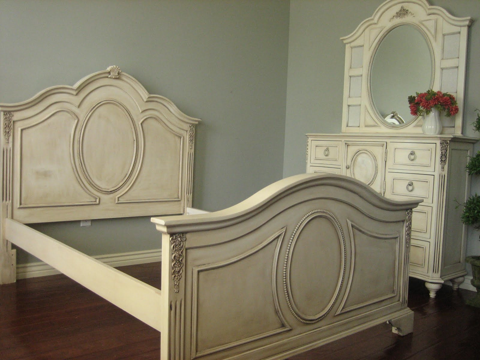 Best ideas about Shabby Chic Bedroom Sets . Save or Pin European Paint Finishes Shabby French Bedroom Set Now.