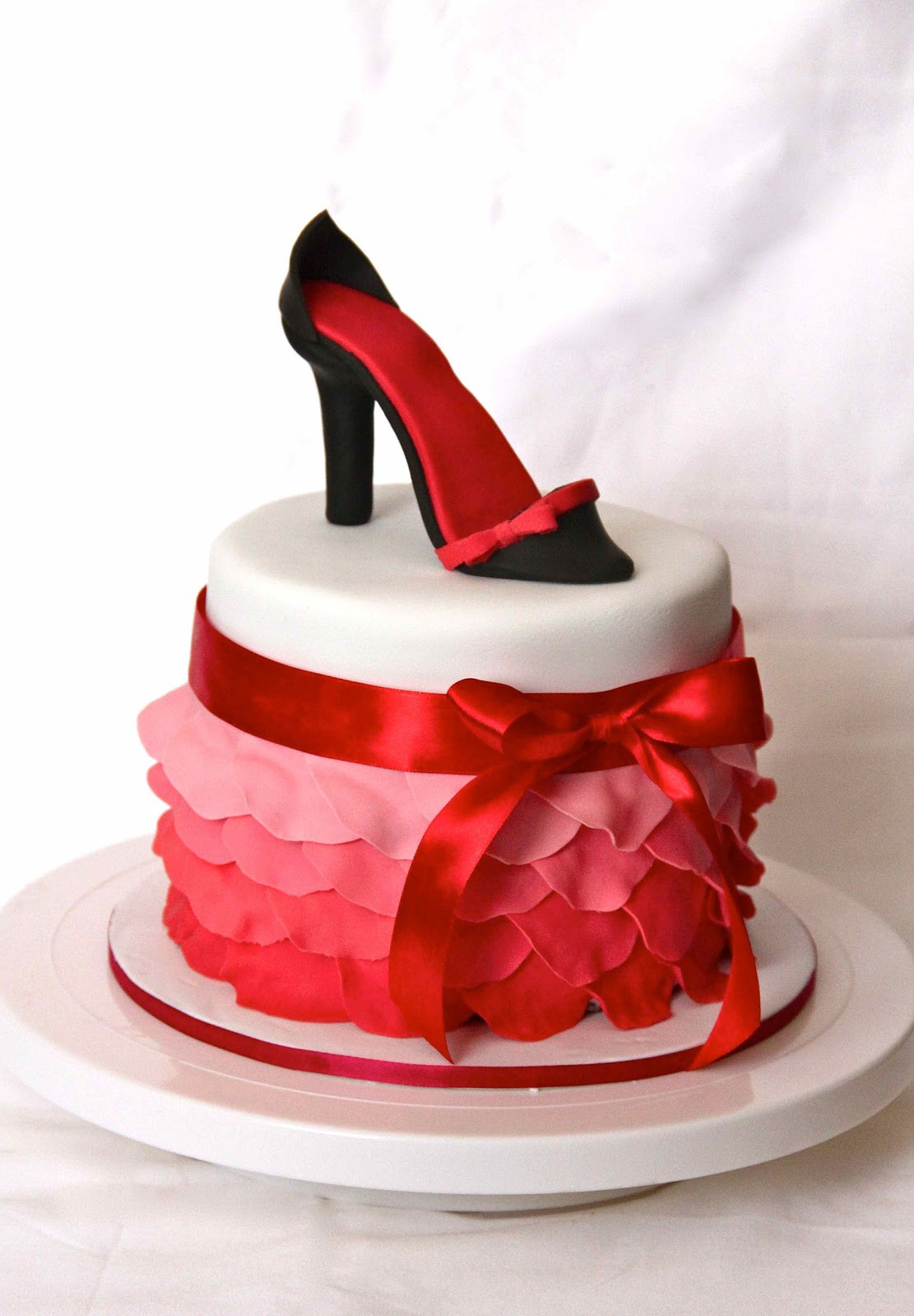 Best ideas about Shoes Birthday Cake . Save or Pin Bakerz Dad Petal and Shoe Cake Now.
