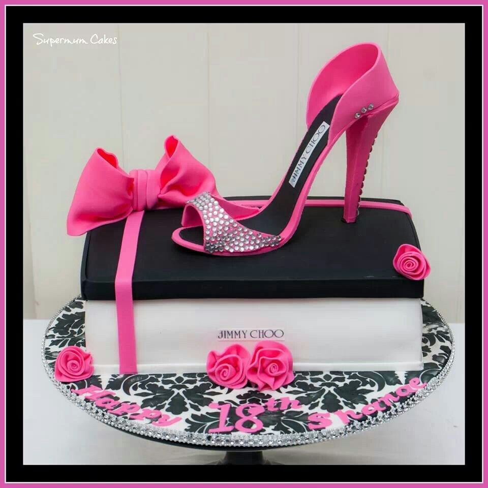 Best ideas about Shoes Birthday Cake . Save or Pin Sandal Girl Shoe Happy Birthday Cake Ideas Now.
