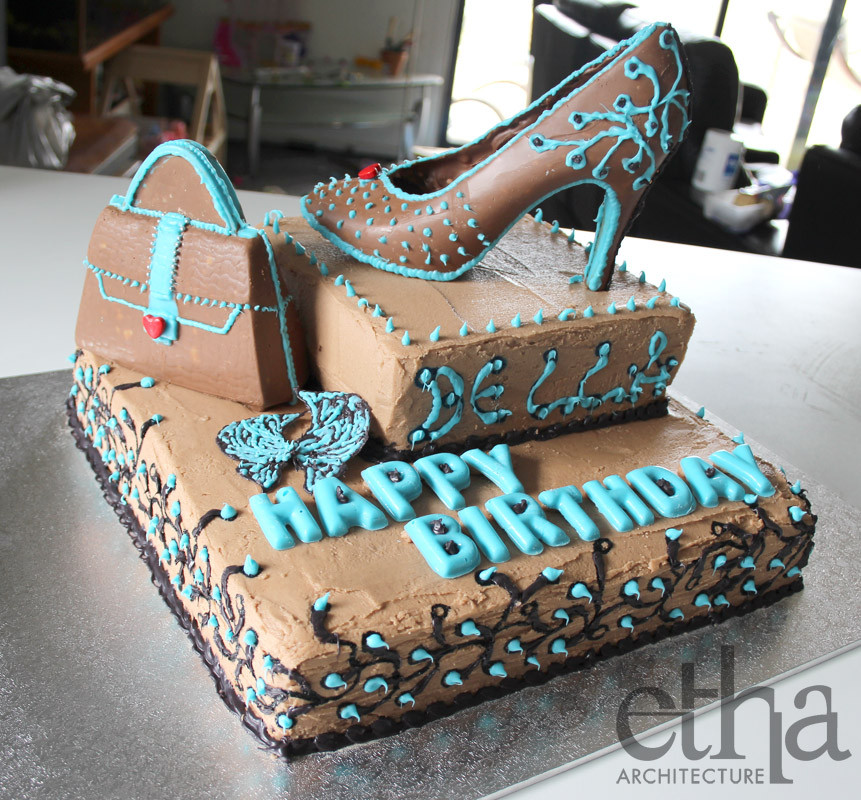 Best ideas about Shoes Birthday Cake . Save or Pin Cake Now.