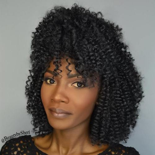 Best ideas about Short Crochet Hairstyles With Curly Hair . Save or Pin 40 Crochet Braids Hairstyles for Your Inspiration Now.