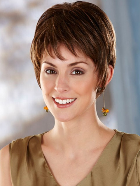 Best ideas about Short Haircuts For Long Faces . Save or Pin 15 Short Hairstyles for Long Faces Now.