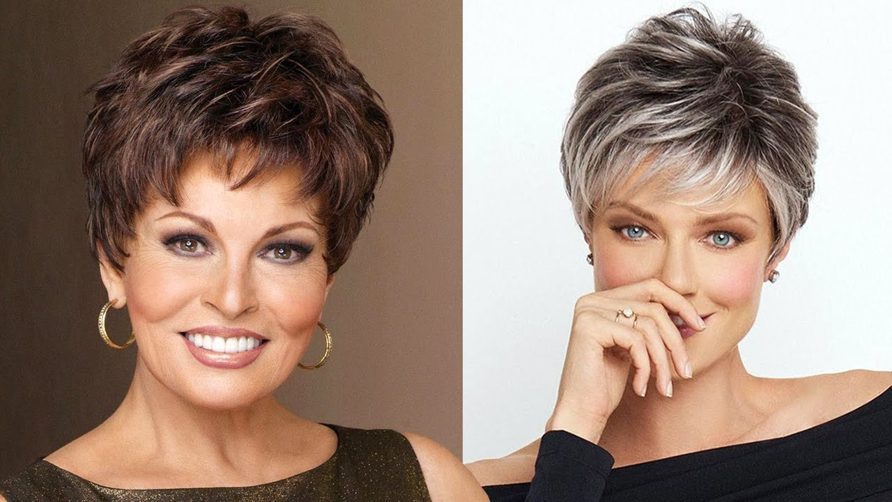 Best ideas about Short Haircuts For Women Over 50 2019 . Save or Pin Short Hairstyles for Older Women 2018 2019 Now.