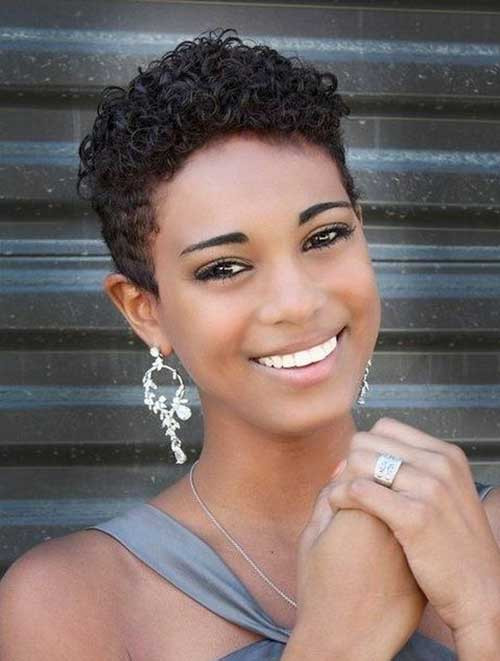 Best ideas about Short Hairstyles For Black Women With Thin Hair . Save or Pin 25 Appealing Short Hairstyles for Black Women Hairstyle Now.