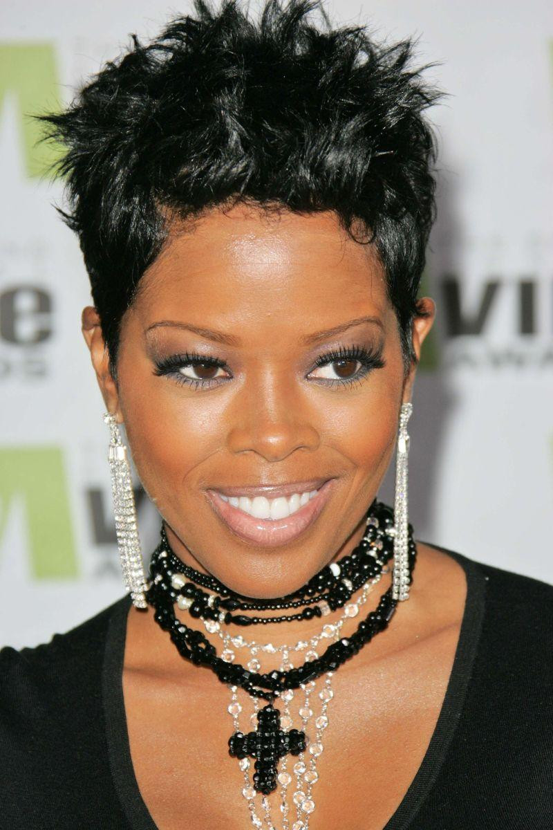 Best ideas about Short Hairstyles For Black Women With Thin Hair . Save or Pin 70 Best Short Hairstyles for Black Women with Thin Hair Now.