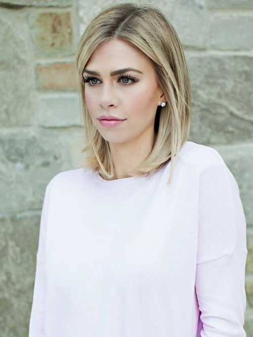 Best ideas about Short Shoulder Length Hairstyles . Save or Pin 25 Short Medium Length Haircuts Now.