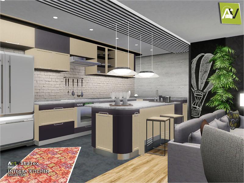 Best ideas about Sims 3 Kitchen Ideas . Save or Pin ArtVitalex s Integra Kitchen Now.