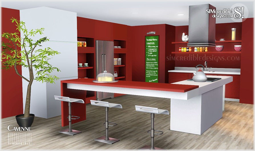 Best ideas about Sims 3 Kitchen Ideas . Save or Pin My Sims 3 Blog Cayenne Kitchen Set by Simcredible Designs Now.
