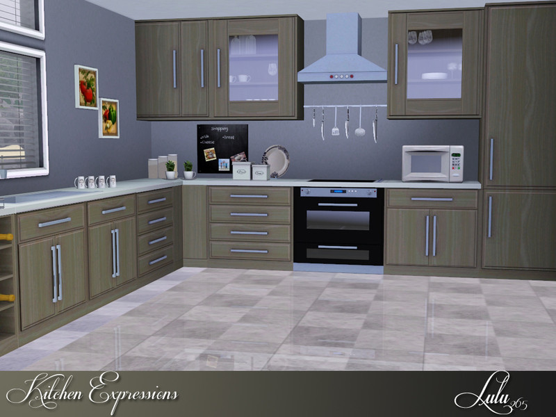 Best ideas about Sims 3 Kitchen Ideas . Save or Pin Lulu265 s Kitchen Expressions Now.